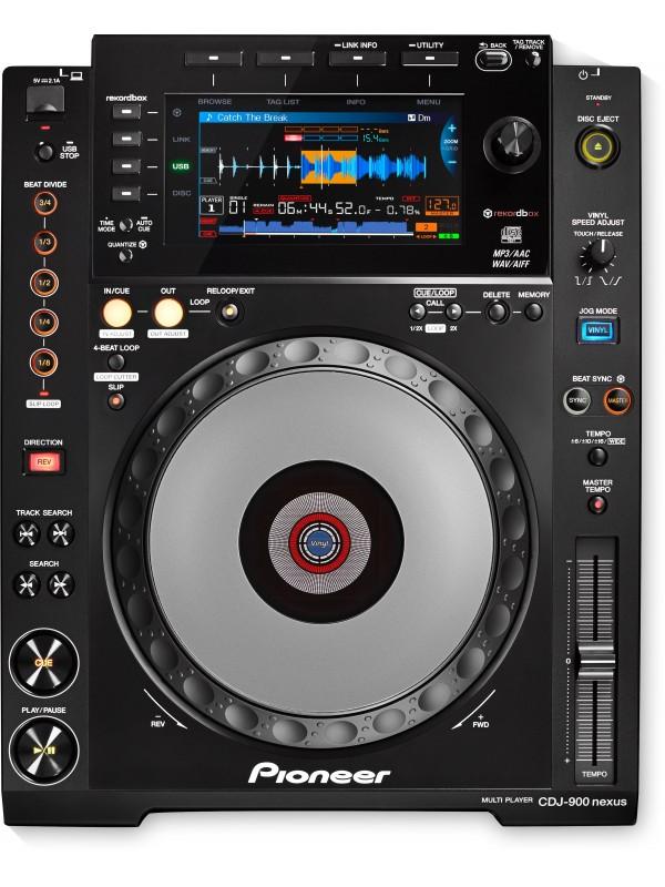 Pro-DJ Multi-Player PIONEER CDJ-900NXS Nexus