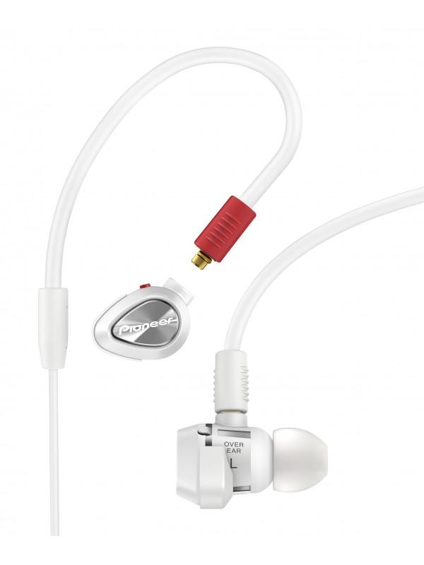 Auscultador In-Ear DJ PIONEER DJE-1500-W