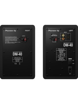 """Compact Active Monitor PIONEER 4"""" DM-40"""