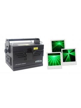 EVOLITE Laser RGB 1W VERDE Galvos 30Kpps DMX/ ILDA