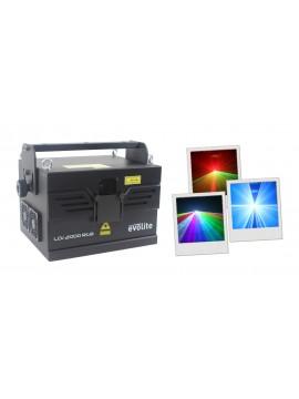 EVOLITE Laser RGB 2W C/ Galvos 30Kpps DMX/ ILDA