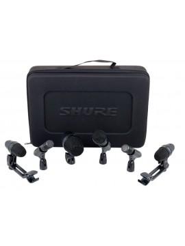 Kit de 6 Micros P/Bateria SHURE PGA DrumKit 6