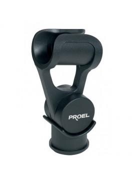 Pinça PROEL para microfones entre 18 e 22mm