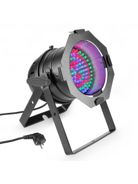 Projector LED PAR56 RGB 108x10mm Black