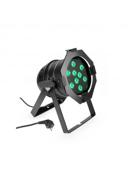 Projector LED PAR56 RGB 9x3w Black