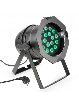 Projector LED PAR64 RGBW 18x8w Black