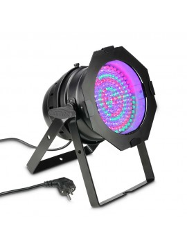 Projector LED PAR64 RGB 183x10mm Black