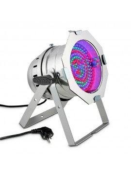 Projector LED PAR64 RGB 183x10mm Polished