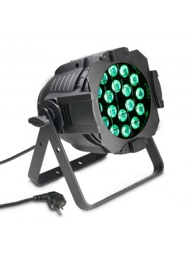 Projector LED PAR64 CAN RGBW 18x8w Black