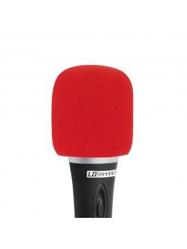 Anti-Sopro para microfone D913 Vermelho
