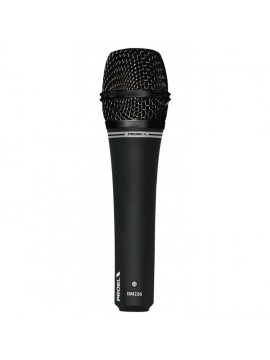 Microfone dinâmico PROEL Cardioide ergonómico