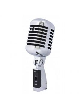 Microfone dinâmico PROEL Look Vintage c/ Switch