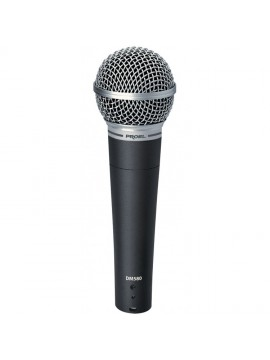Microfone dinâmico Cardioide PROEL Vocal