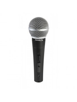 Microfone din. Cardioide PROEL Vocal c/ ON/OFF
