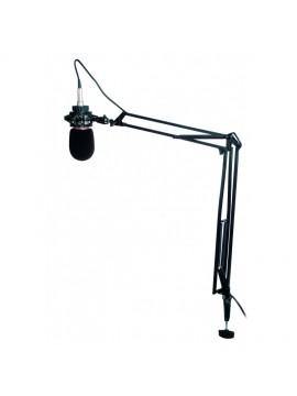 Tripe Microfone PROEL extensível de estúdio