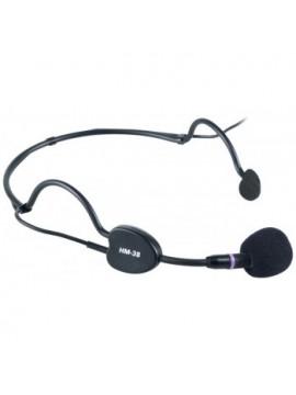 Microfone Headset PROEL Condens. Cardi. Jack 3.5mm