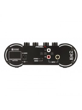 Amplificador auscultadores PROEL 4 canais