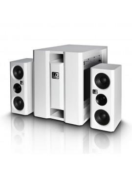 Sistema Amplificado LD DAVE 8XSW White
