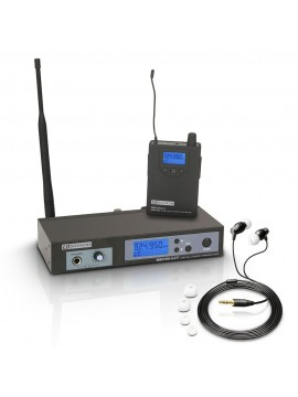 Sistema de Monição S/Fio IN EAR  LD  MEI100G2