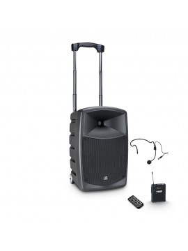 Sist. Amplif. Portatil C/USB Bluetooth e Headset
