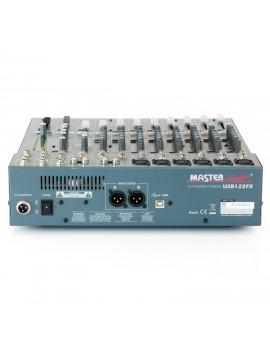 Mesa Mistura 12 canais 2 ST c/ USB e Efeitos