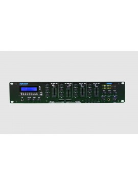 Misturador NEWHANK 7 Line, 3 Mic,USB/SD/BLUETOOTH