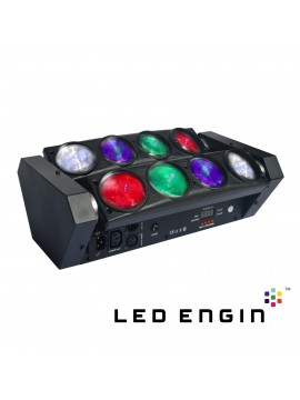 POWER Barra de Leds RGBW 8X12W