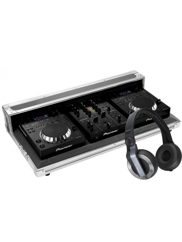 Kit PIONEER 2xCDJ350 / 1xDJM350 C/FlyCase
